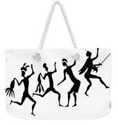 Primitive Art - Various Figures Weekender Tote Bag by Michal Boubin
