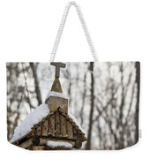 Primitive Church In The Mountains Weekender Tote Bag