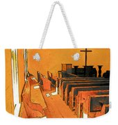 Primitive Church - Sunday Morning Weekender Tote Bag