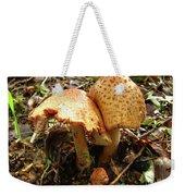 Prince Agaricus Mushroom Weekender Tote Bag