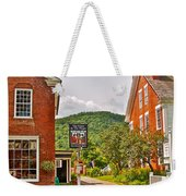 Prince And The Pauper Restaurant In Woodstock-vermont  Weekender Tote Bag