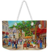 Prince Arthur Restaurants Montreal Weekender Tote Bag