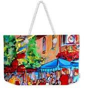 Prince Arthur Street Summer Weekender Tote Bag