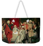 Prince Charles Edward Stuart In Edinburgh Weekender Tote Bag