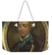 Prince Charles Edward Stuart The Young Pretender Weekender Tote Bag