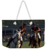 Prince Charles Playing Polo Weekender Tote Bag
