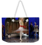 Prince Charming In Blurred Spin While Dancing In Ballet Jorgen P Weekender Tote Bag