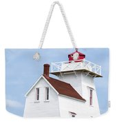 Prince Edward Island Lighthouse Poster Weekender Tote Bag