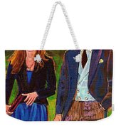 Prince William And Kate The Young Royals Weekender Tote Bag