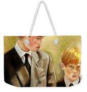 Prince William And Prince Harry Weekender Tote Bag