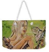 Princess And Frog Weekender Tote Bag
