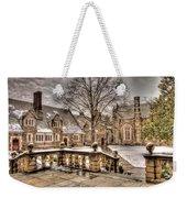 Snow / Winter Princeton University Weekender Tote Bag