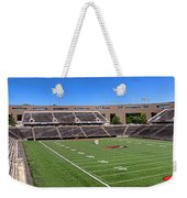 Princeton University Stadium Powers Field Panoramic Weekender Tote Bag