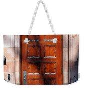 Princeton University Wood Door  Weekender Tote Bag