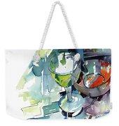 Prism Lights Weekender Tote Bag