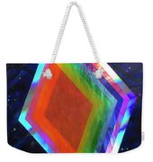 Prismatic Dimensions Weekender Tote Bag