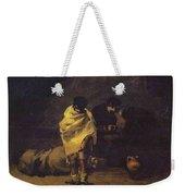 Prison Scene Francisco Jose De Goya Y Lucientes Weekender Tote Bag