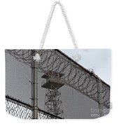 Prison Tower And Fence Weekender Tote Bag