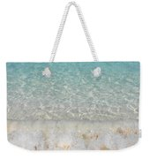 Pristine Beach At Half Moon Cay Weekender Tote Bag