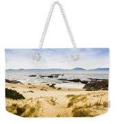Pristine Beach Background Weekender Tote Bag