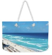 Pristine Beach In Cancun Weekender Tote Bag