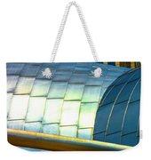 Pritzker Pavilion And Prudential Plaza Dsc2753 Weekender Tote Bag