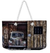 Private Parking Weekender Tote Bag
