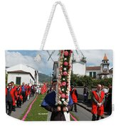 Procession In Furnas - Azores Weekender Tote Bag
