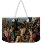 Procession Of Crusaders Around Jerusalem Weekender Tote Bag