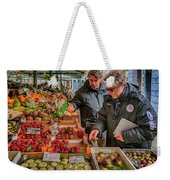 Produce Market Venice Italy_dsc4495_03032017 Weekender Tote Bag