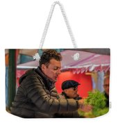 Produce Vendor Venice Italy_dsc4540_03032017 Weekender Tote Bag