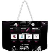 Professional Mobile Optimized Ebay Store Weekender Tote Bag