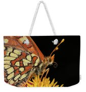Profile Of A Butterfly Weekender Tote Bag