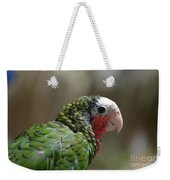 Profile Of A Conure Parrot Up Close Weekender Tote Bag