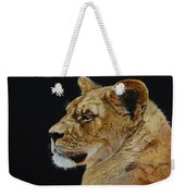 Profile Of A Lioness Weekender Tote Bag