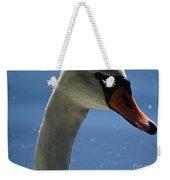 Profile Of A Swan Weekender Tote Bag