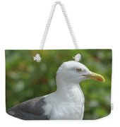 Profile Of Adult Seagull Weekender Tote Bag