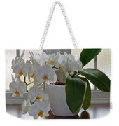 Profusion Of White Orchid Flowers Weekender Tote Bag