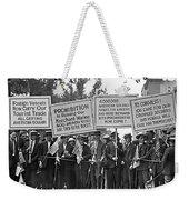 Prohibition Protestors Weekender Tote Bag