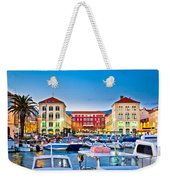 Prokurative Square In Split Evening Colorful View Weekender Tote Bag