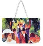 Promenade II By August Macke Weekender Tote Bag