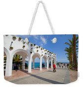 Promenade In Nerja Weekender Tote Bag
