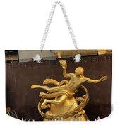 Prometheus Rockefeller Center Weekender Tote Bag