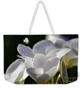 Promises In White Weekender Tote Bag