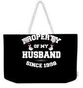 Propertyhusband 1998 Weekender Tote Bag