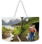 Prospector And Best Friend Weekender Tote Bag