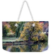 Prosser - Autumn Reflection With Geese Weekender Tote Bag