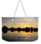 Prosser Sunset - Blue And Gold Weekender Tote Bag