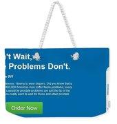 Prostate 911 Weekender Tote Bag