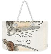 Prosthetic Noses, Ambroise Pare, 1561 Weekender Tote Bag